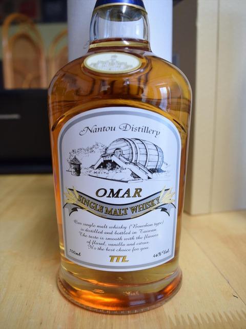 南投酒廠 OMAR バーボンタイプ 46%