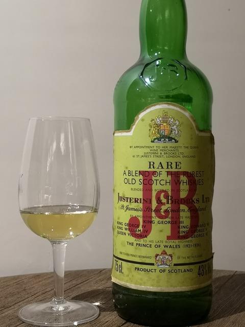 J&B レア 1980年代流通 43%
