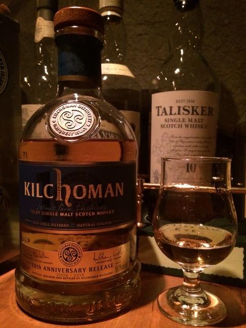 キルホーマン10周年記念ボトル 2015年リリース