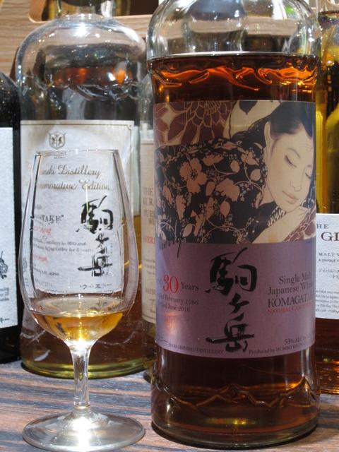 駒ケ岳 30年 シェリーカスク ナチュラルカスクストレングス 53% 本坊酒造