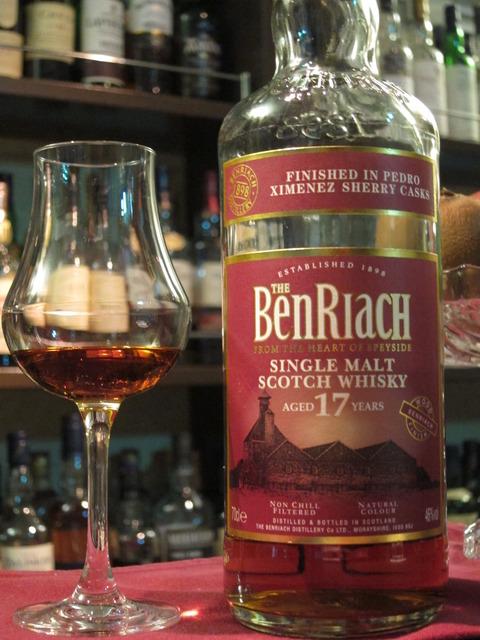 ベンリアック 17年 ペドロヒメネスカスクフィニッシュ 46%