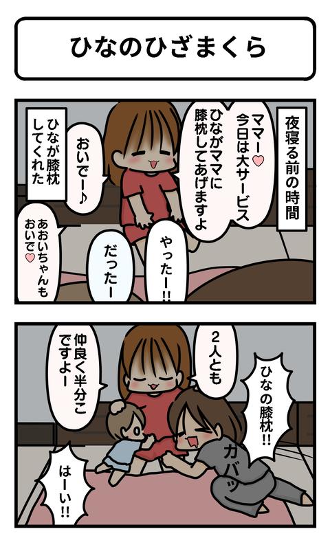 ひなの膝1