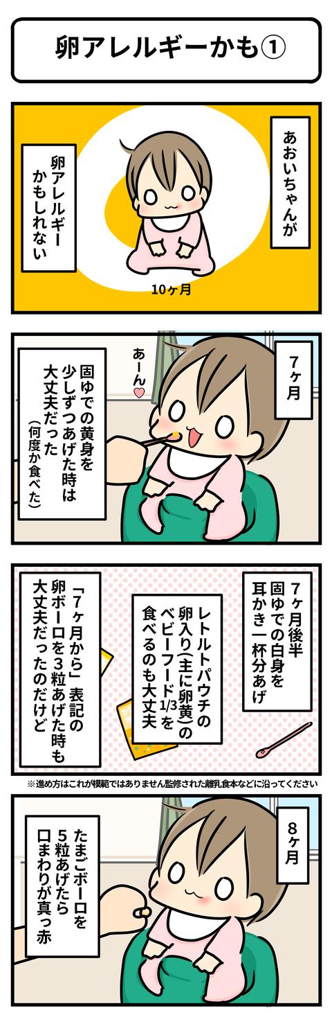 卵アレルギー1