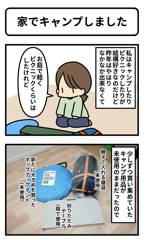 キャンプ1