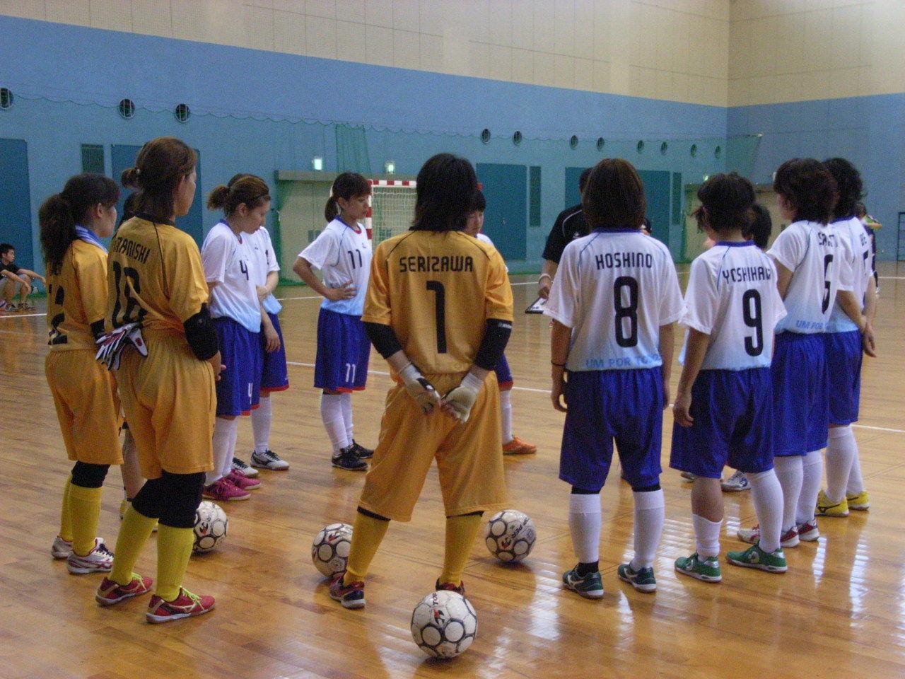... フットサル女子日本代表合宿