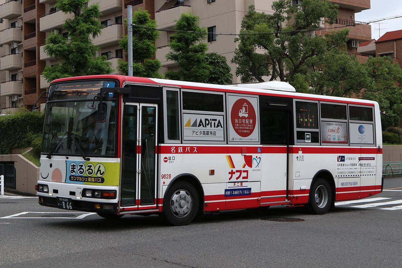名鉄バス 9628 : バス画像保管庫