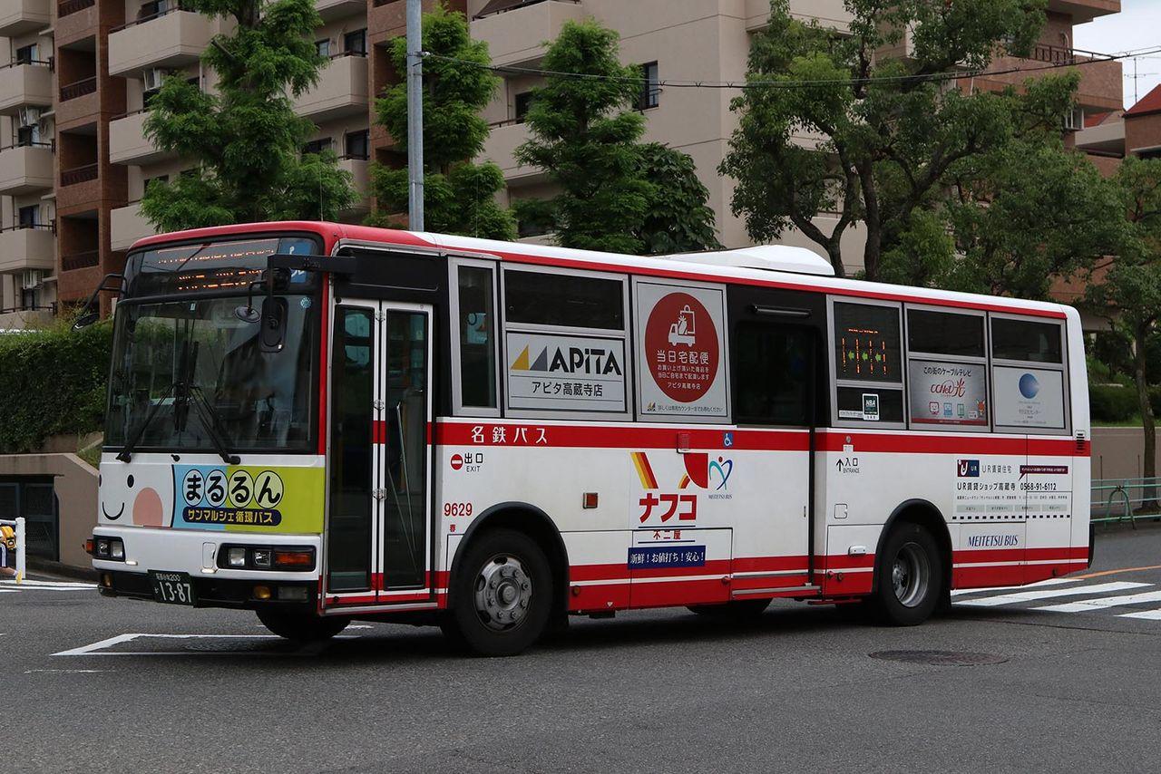 バス画像保管庫 : 名鉄バス 9629