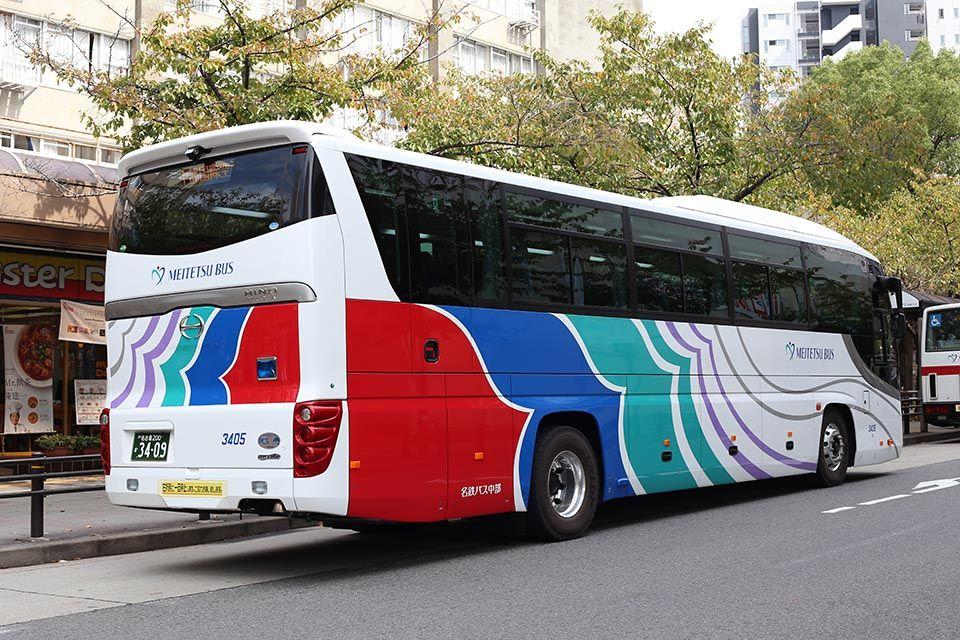 バス画像保管庫 : 名鉄バス中部