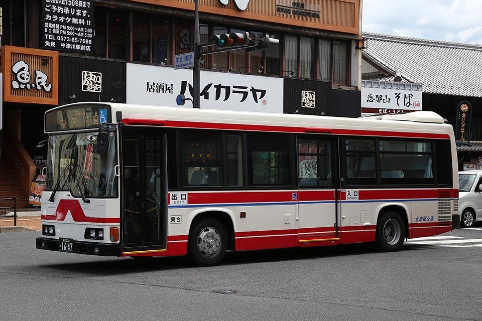 バス画像保管庫 : 北恵那交通 16...