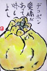 2-絵手紙デコポン.JPG
