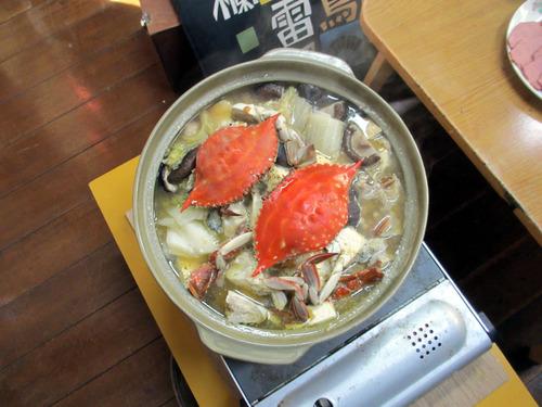 250119ガザミ鍋IMG_0393