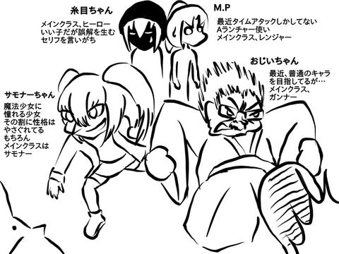 6鯖のキャラ紹介