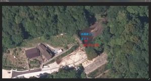 22 ヤフー地図 砂防ダム アップ