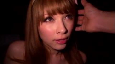 【ティア】巨乳金髪ハーフギャルをガン突きして大量ザーメンを顔射!