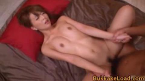 【希崎ジェシカ】デカチンの高速ピストンでガン突きされて大量顔射される美女ハーフギャル