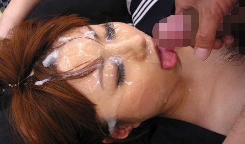 【成瀬心美】セーラー服姿のままSEXられて大量の濃密ザーメンをぶっかけ顔射されてドロドロに汚される巨乳ギャル女子高生!