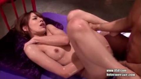 【Rio柚木ティナ】華奢ハーフ美人とベロチューしまくるヌルヌルローションセックス!