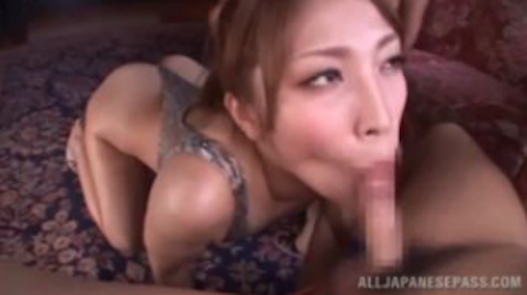 【桜ここみ】ハイレグ水着の巨乳淫乱痴女が連続フェラ抜きで濃密ザーメンを美味しくごっくんwww