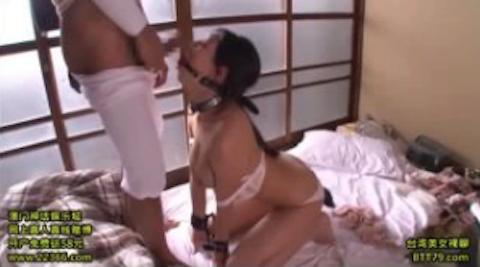 【佐倉ねね】ドM巨乳な雌豚を監禁拘束して極太チンポのイラマチオで奴隷調教