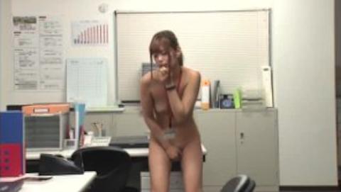 【紺野ひかる】残業中のギャルOLが社内で全裸オナニーしちゃう事案が発生www