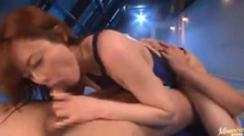 【吉沢明歩】競泳水着の美巨乳美人がプールサイドで乱れまくる本気セックス【AV女優】