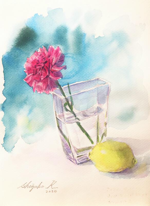夢中なことが一つあると ~I am into watercolor painting.~
