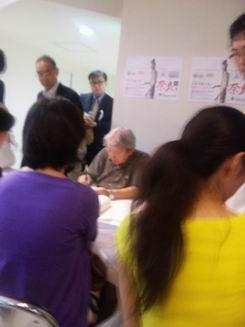 大阪は なんば高島屋まで 安野光雅さんの展覧会&サイン会に行って来ました♪