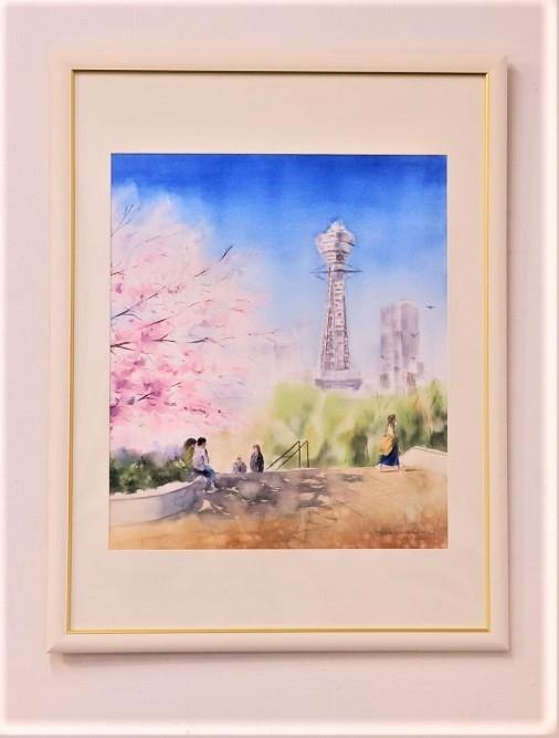 2019.04黒川しづこ透明水彩画作品 (22)