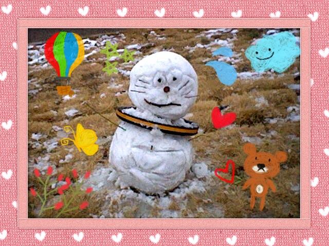 在廊日2月8日土曜日 東京は大雪、大阪は冷たい雨の日でした