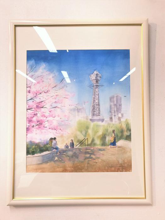 """くろかわ透明水彩画教室作品展 最終日 """"無事終了致しました!"""""""