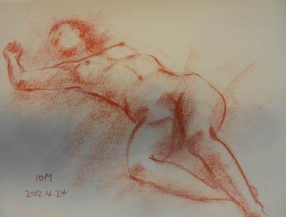 24裸婦描画教室