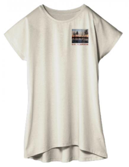 黒川しづこ透明水彩画Tシャツ表
