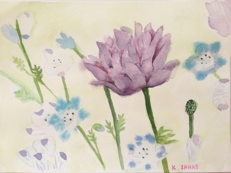 K watercolor