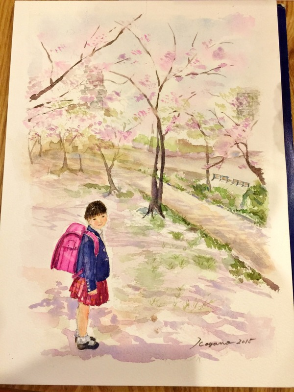 くろかわ透明水彩画教室は春満点(o^∇^o)ノ えっ?「もう夏じゃん!」ですって?