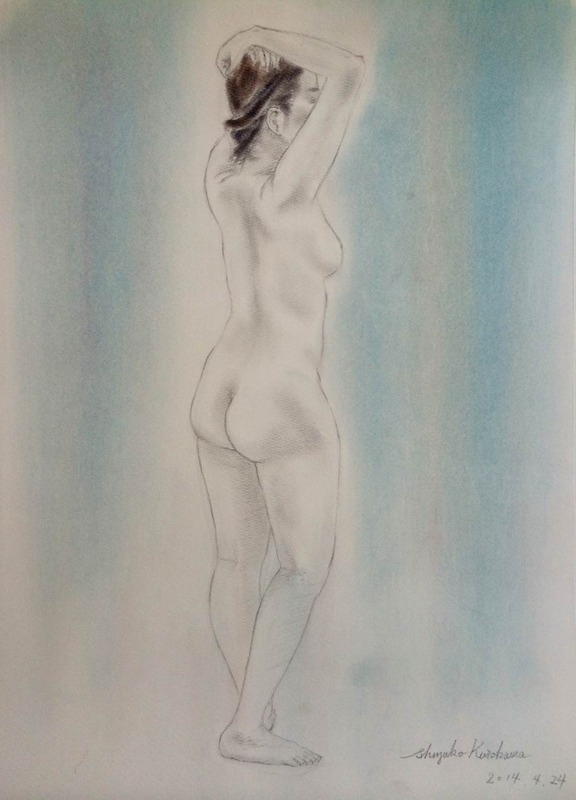 裸婦デッサン教室作品 & ホルベインにギャラリーがオープン!