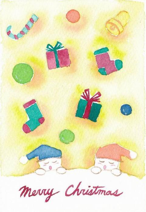 クリスマスカードその2