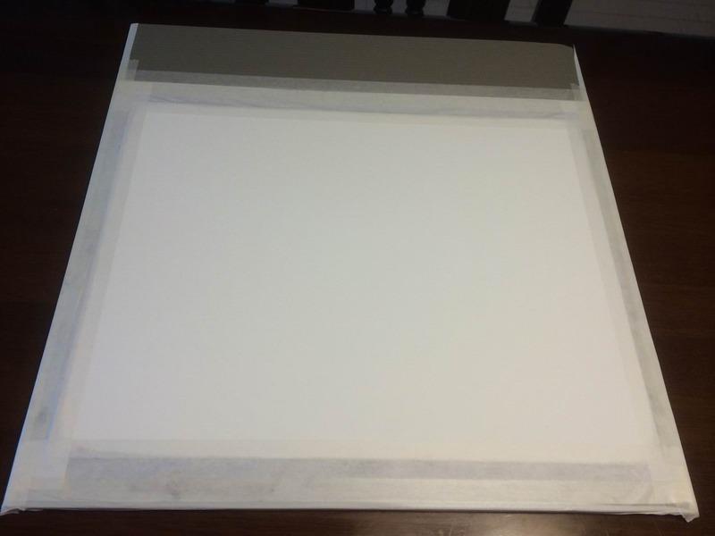 200円前後で…水張りできる超軽量プラダン画板作りました♪(改訂)