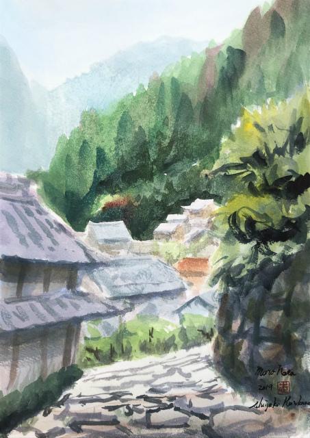 2019.08.21-22奈良室生スケッチ (7)