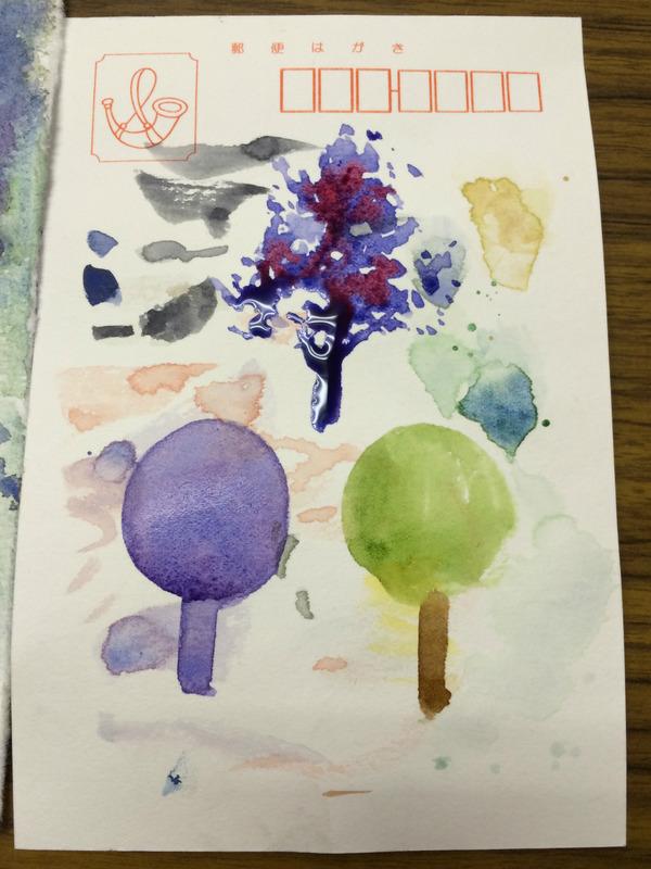 くろかわ透明水彩画教室~ポストカード水彩紙を活用しています~