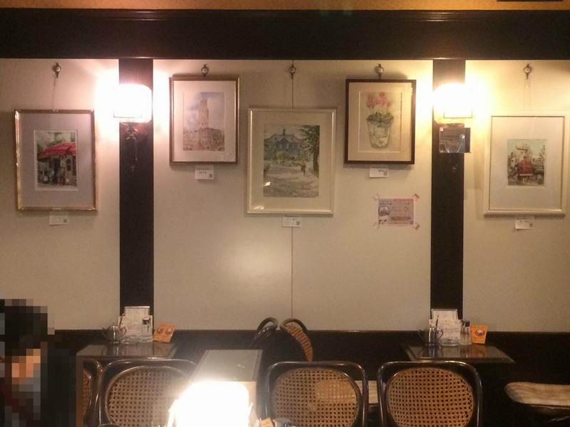 KUROKAWAの透明水彩画サークル作品展は無事終了致しました☆