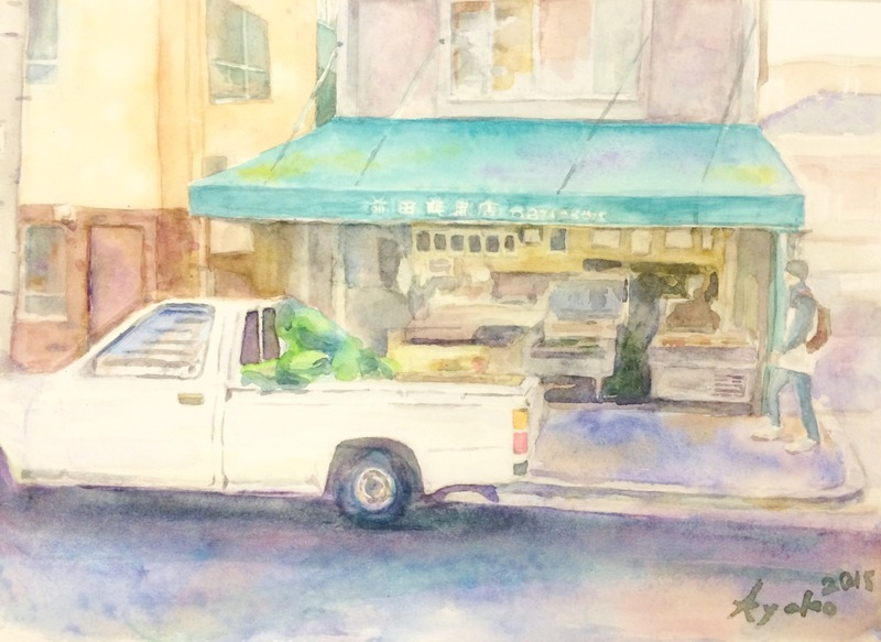 くろかわ透明水彩画教室 十人十色素敵です☆&村上豊さん個展に行きました♪