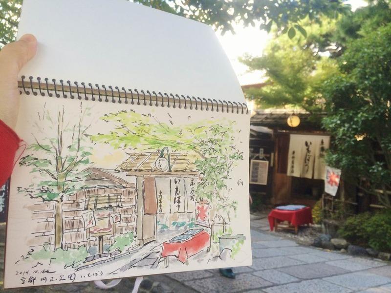 16円山公園スケッチ (3)