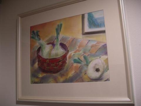 パンパステル画「静物」 (1)