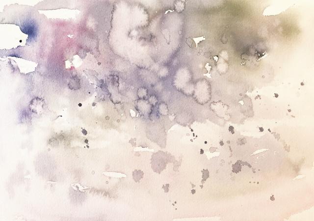 2020.01.29透明水彩画「春待つ港」 途中 (1)