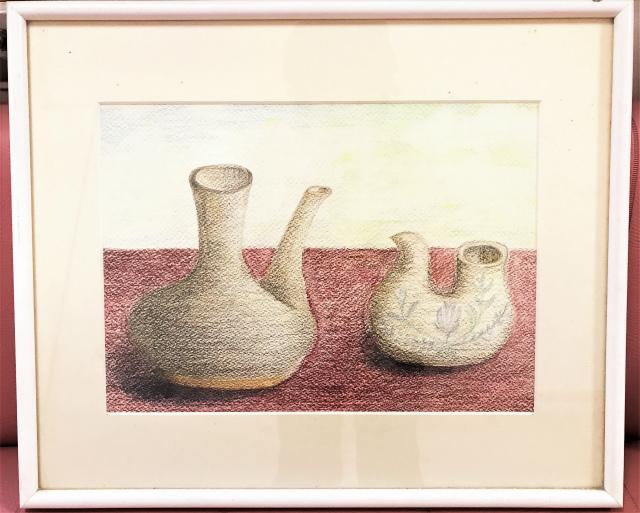 母の絵と水彩画教室Ⅱ「よい循環ができたらいいな」
