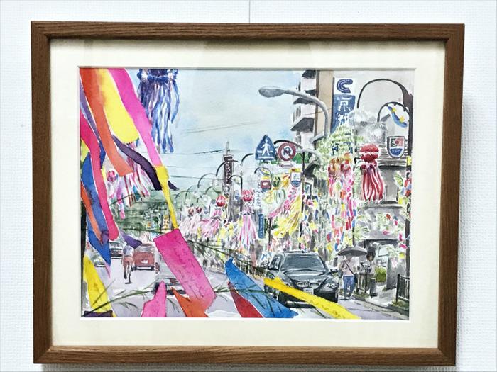 近鉄文化サロン5月6日まで休講&「個展の様子:枚方の風景Ⅰ」