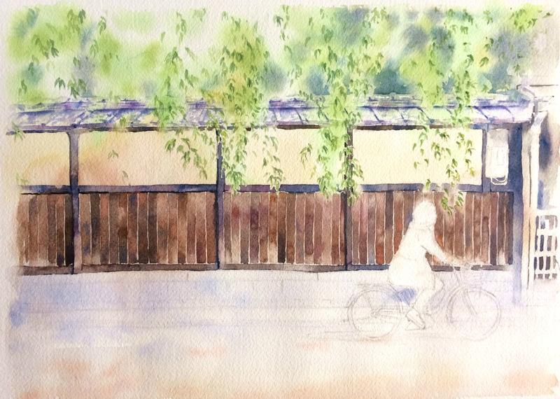 アートエッセイ「嫌われる勇気」と「水彩画教室」その1