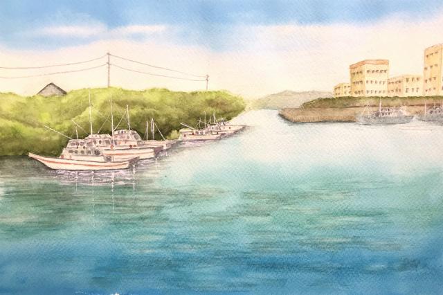 10月1日~ANさんの透明水彩画グループ展&ダイハツキュリオスに行ってきました☆