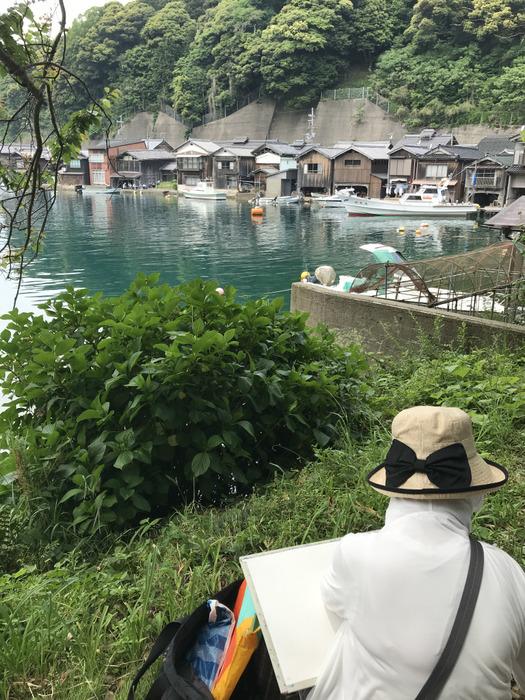 【京都:伊根の舟屋】スケッチバスツアーに参加してきました!