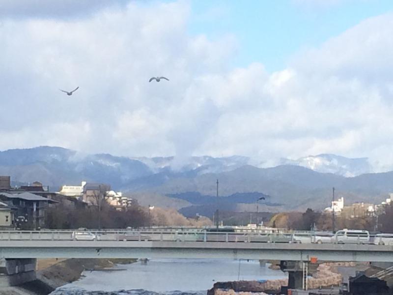 プライベート記事 真冬の京都生牡蠣デート&狐のお面